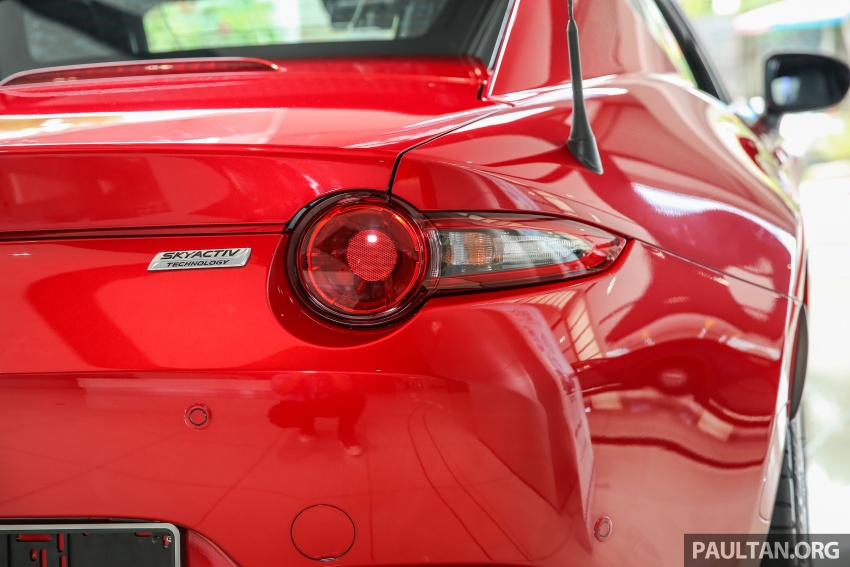 Mazda MX-5 RF in Malaysia – 2.0L, auto and manual Image #616367