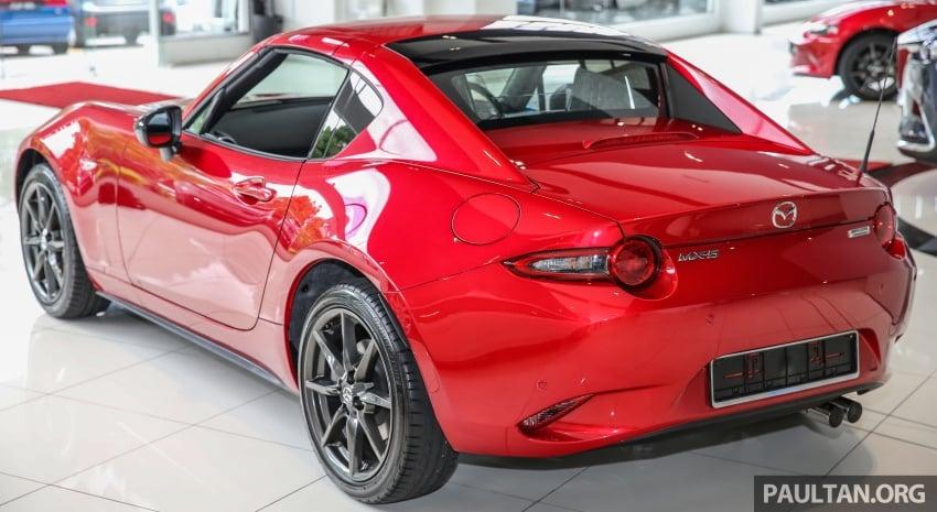 Mazda MX-5 RF in Malaysia – 2.0L, auto and manual Image #616341