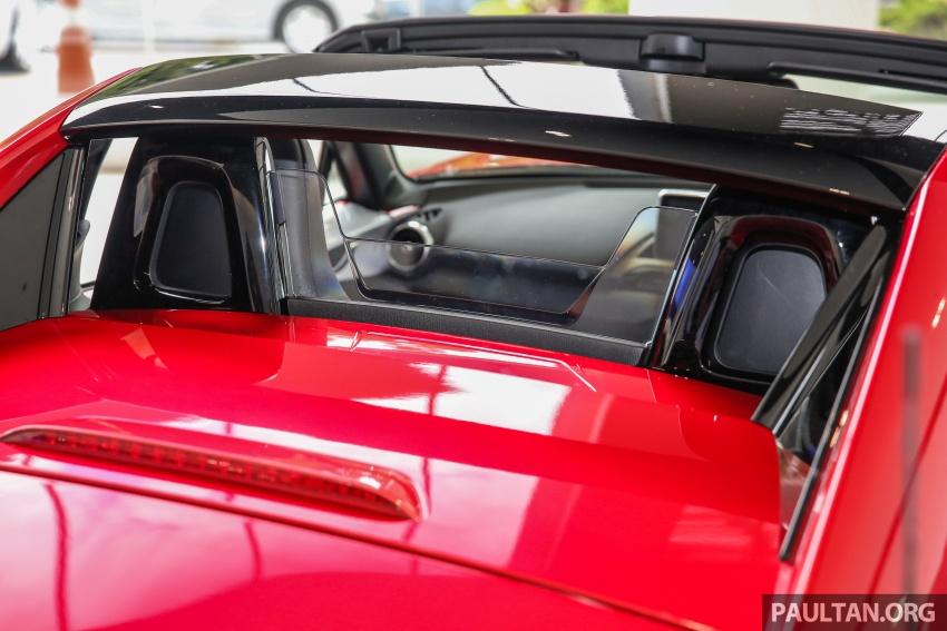 Mazda MX-5 RF in Malaysia – 2.0L, auto and manual Image #616374