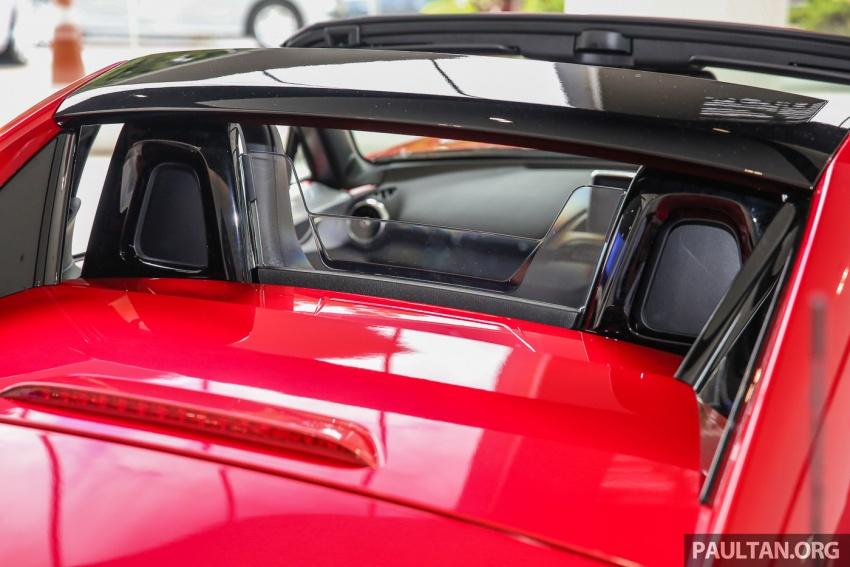 Mazda MX-5 RF sudah berada di Malaysia – 2.0 L, pilihan transmisi manual , dijangka cecah RM250k Image #616458
