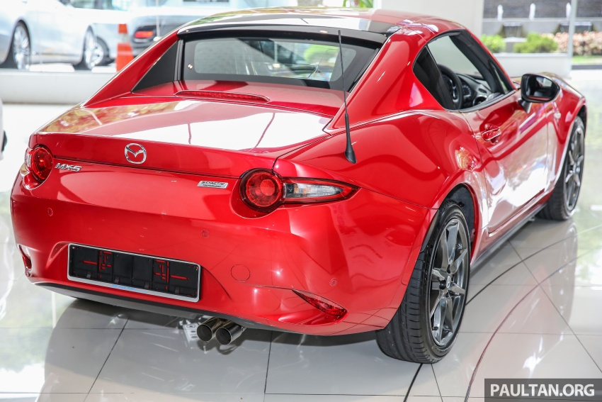 Mazda MX-5 RF in Malaysia – 2.0L, auto and manual Image #616342