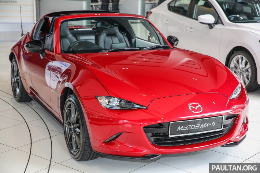 Mazda MX-5 RF in Malaysia – 2.0L, auto and manual Image #616343
