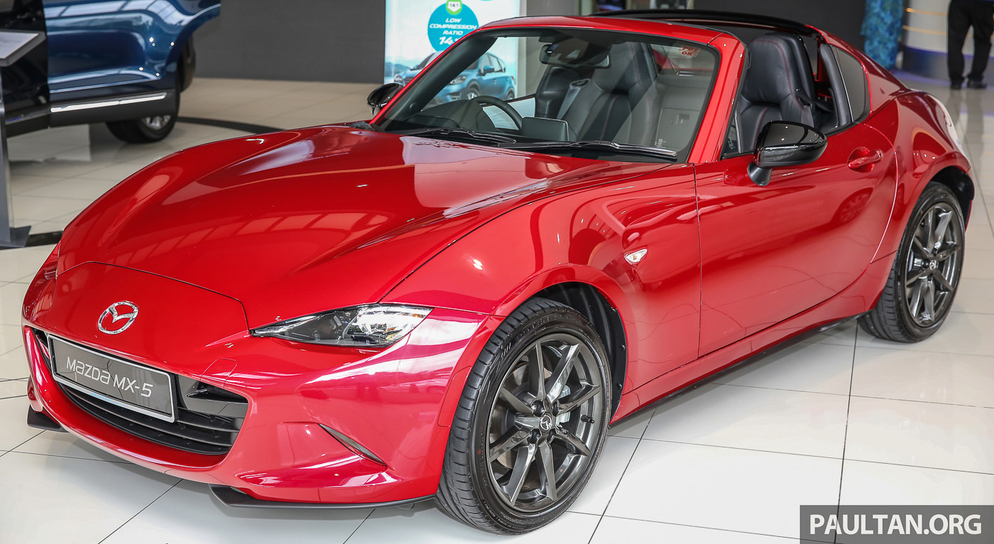 mazda mx 5 rf launched in malaysia folding hardtop. Black Bedroom Furniture Sets. Home Design Ideas