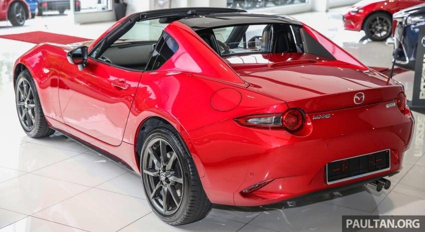 Mazda MX-5 RF in Malaysia – 2.0L, auto and manual Image #616345
