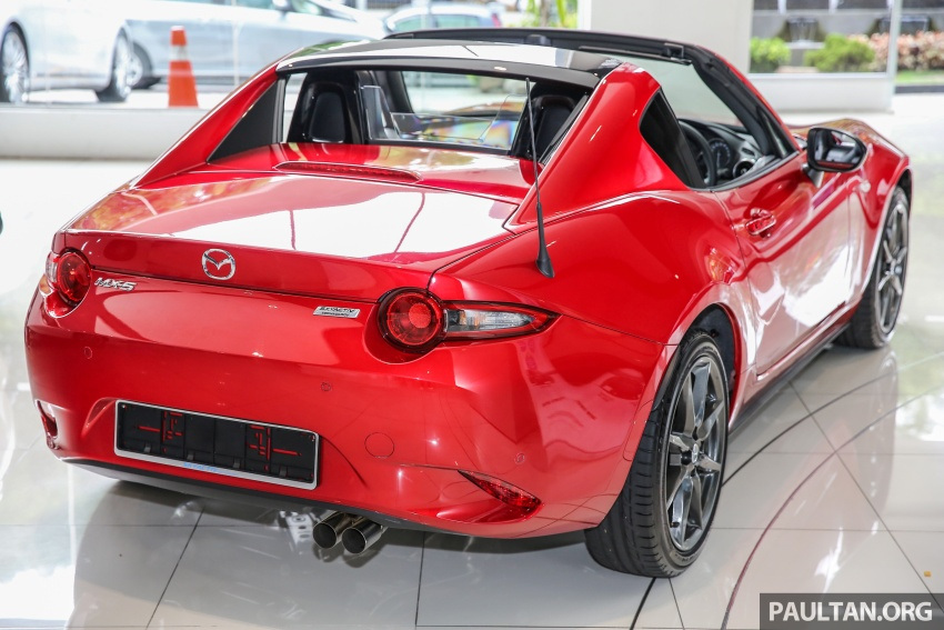 Mazda MX-5 RF in Malaysia – 2.0L, auto and manual Image #616346