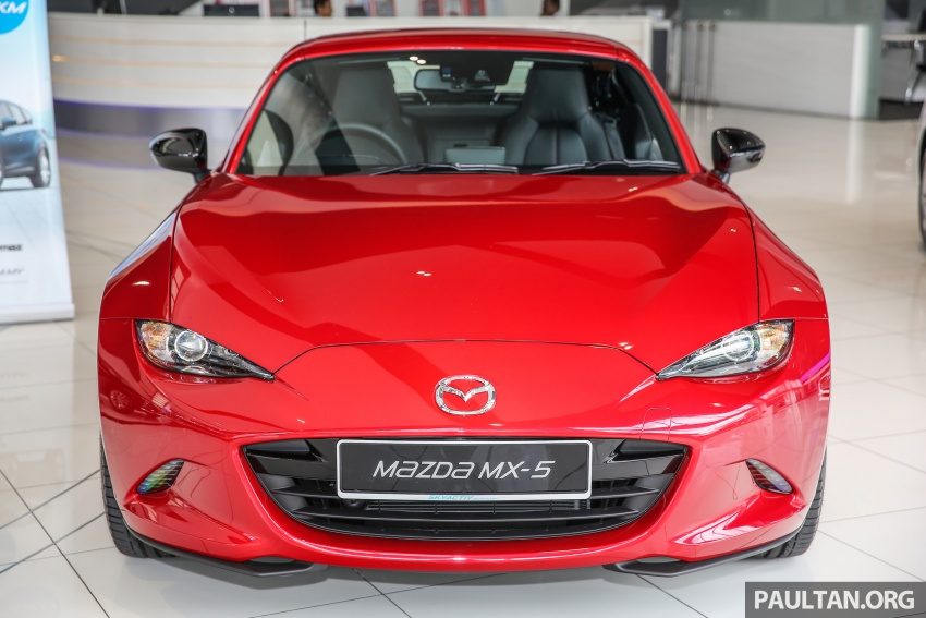 Mazda MX-5 RF in Malaysia – 2.0L, auto and manual Image #616347