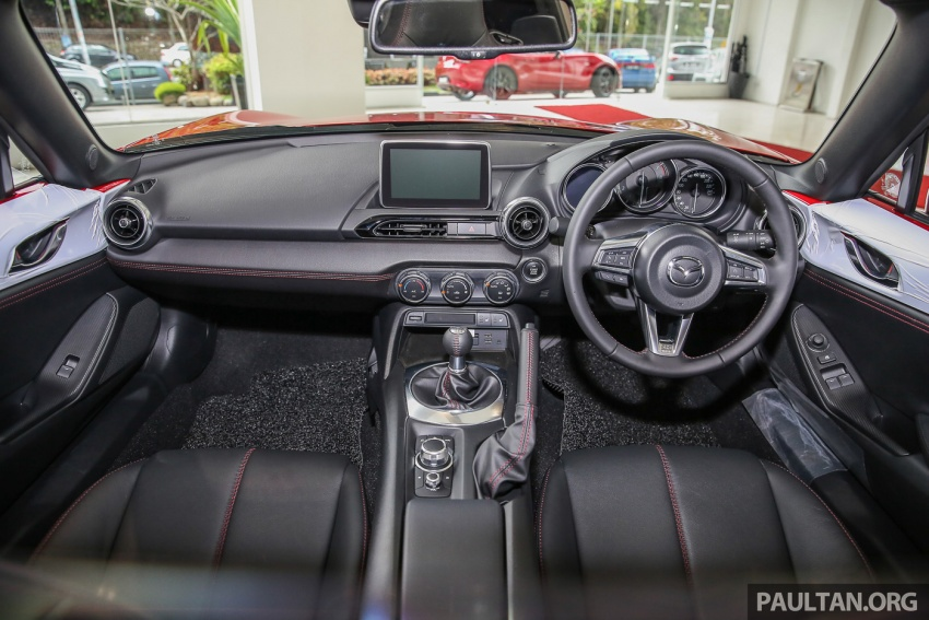 Mazda MX-5 RF sudah berada di Malaysia – 2.0 L, pilihan transmisi manual , dijangka cecah RM250k Image #616471
