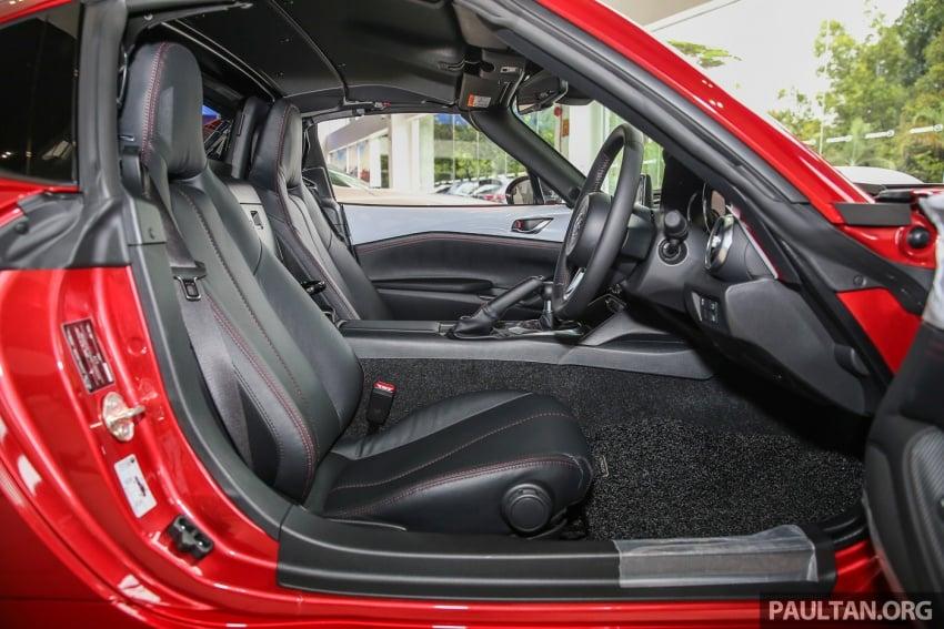 Mazda MX-5 RF sudah berada di Malaysia – 2.0 L, pilihan transmisi manual , dijangka cecah RM250k Image #616491