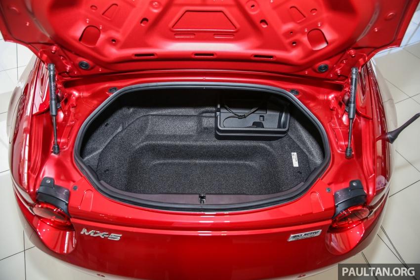 Mazda MX-5 RF in Malaysia – 2.0L, auto and manual Image #616412