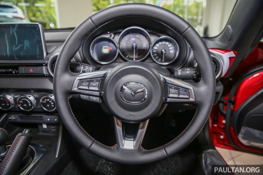 Mazda MX-5 RF in Malaysia – 2.0L, auto and manual Image #616391