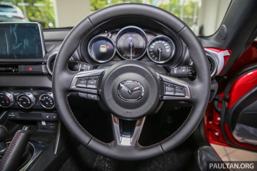 Mazda MX-5 RF in Malaysia – 2.0L, auto and manual Image #616391