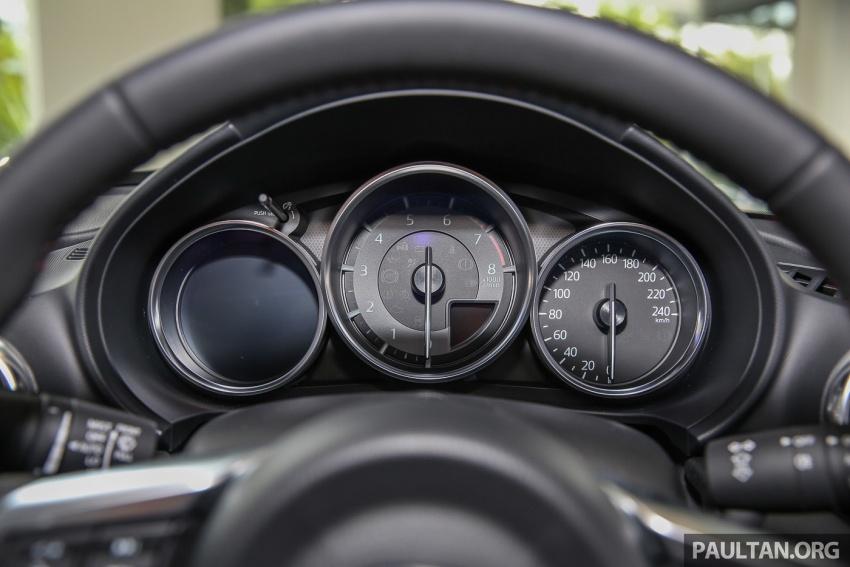 Mazda MX-5 RF sudah berada di Malaysia – 2.0 L, pilihan transmisi manual , dijangka cecah RM250k Image #616475
