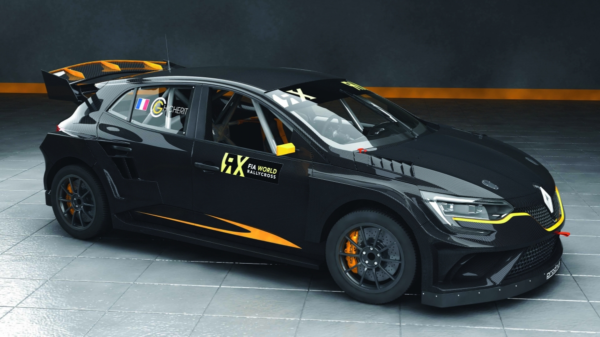 renault megane rx dibangunkan oleh prodrive untuk perlumbaan fia world rallycross championship. Black Bedroom Furniture Sets. Home Design Ideas
