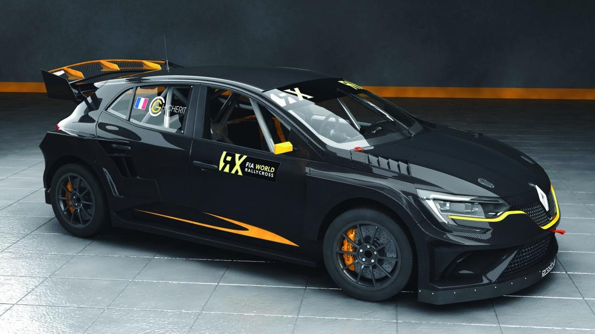 renault megane rx dibangunkan oleh prodrive untuk perlumbaan fia world rallycross championship. Black Bedroom Furniture Sets. Home Design Ideas