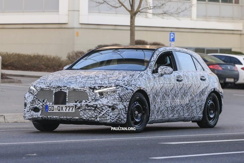 SPYSHOTS: Next-gen Mercedes-Benz A-Class spotted – new interior to feature E-Class widescreen cockpit! Image #617525