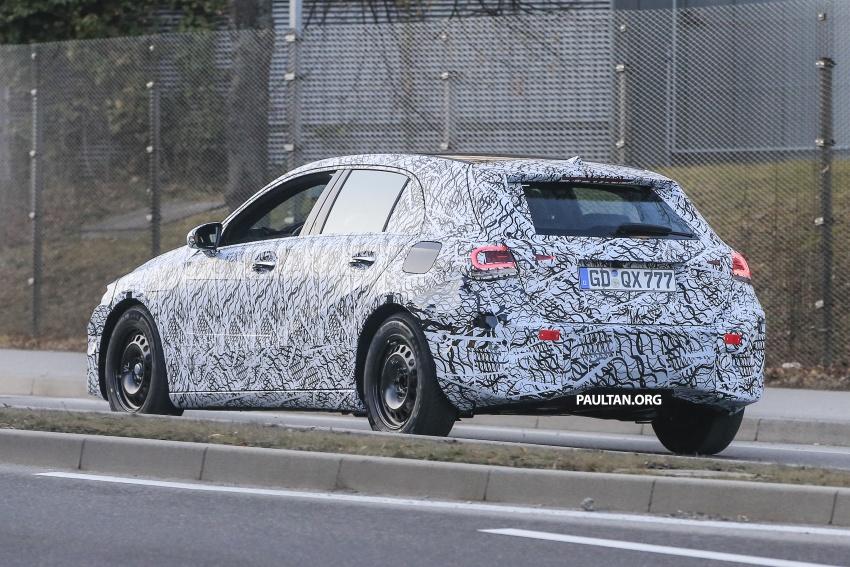 SPYSHOTS: Next-gen Mercedes-Benz A-Class spotted – new interior to feature E-Class widescreen cockpit! Image #617538