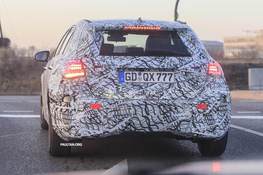 SPYSHOTS: Next-gen Mercedes-Benz A-Class spotted – new interior to feature E-Class widescreen cockpit! Image #617540