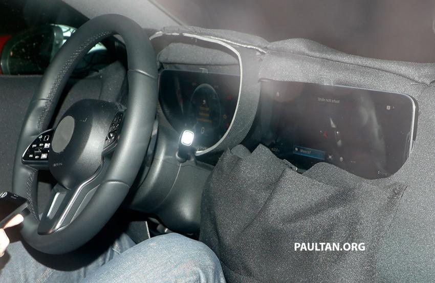 SPYSHOTS: Next-gen Mercedes-Benz A-Class spotted – new interior to feature E-Class widescreen cockpit! Image #616862