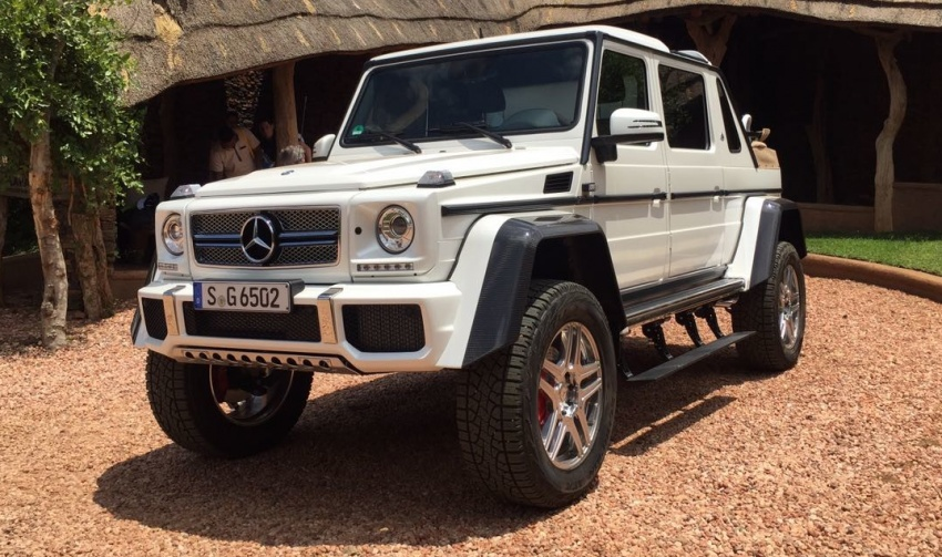Mercedes-Maybach G650 Landaulet unofficially debuts Image #612325