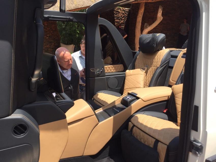 Mercedes-Maybach G650 Landaulet unofficially debuts Image #612340