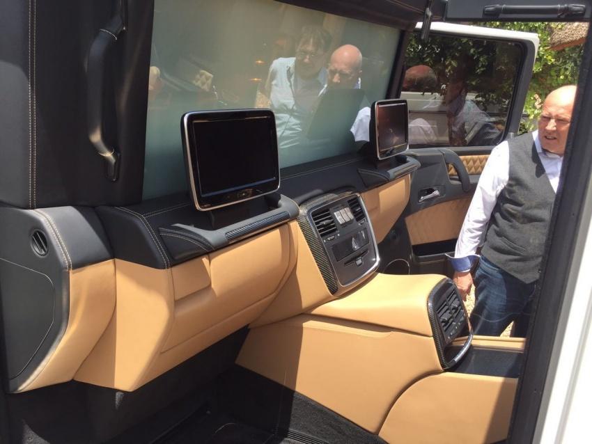 Mercedes-Maybach G650 Landaulet unofficially debuts Image #612341