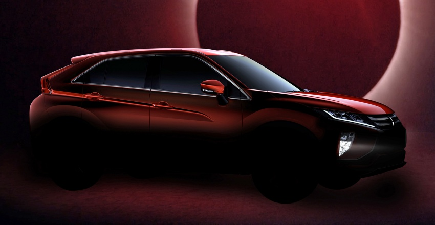 Mitsubishi's new compact SUV is called Eclipse Cross Image #615333