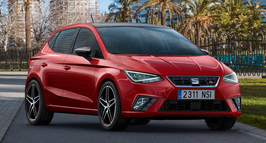 2017 Seat Ibiza – debuts next Polo's MQB A0 platform Image #610795