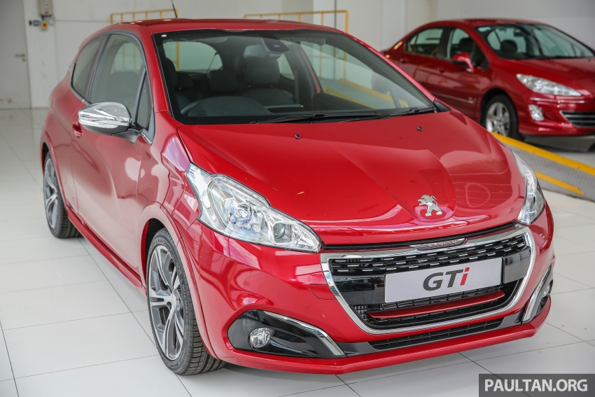 Peugeot 208 GTi facelift now in Malaysian showrooms Image #614708