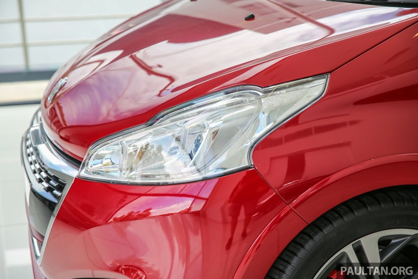 GALERI: Peugeot 208 GTi 2017 – harga belum didedah, kini 208 hp/300 Nm dan beberapa elemen digugurkan Image #614641