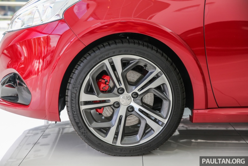 Peugeot 208 GTi facelift now in Malaysian showrooms Image #614726