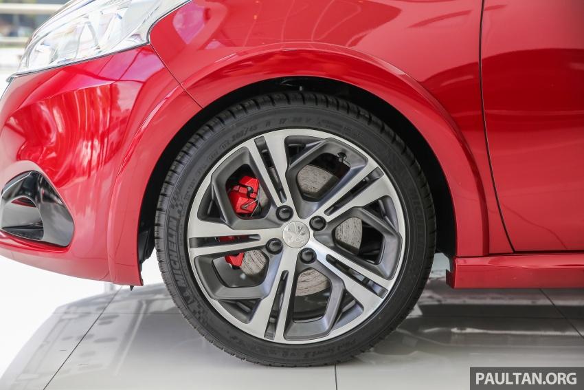 GALERI: Peugeot 208 GTi 2017 – harga belum didedah, kini 208 hp/300 Nm dan beberapa elemen digugurkan Image #614645