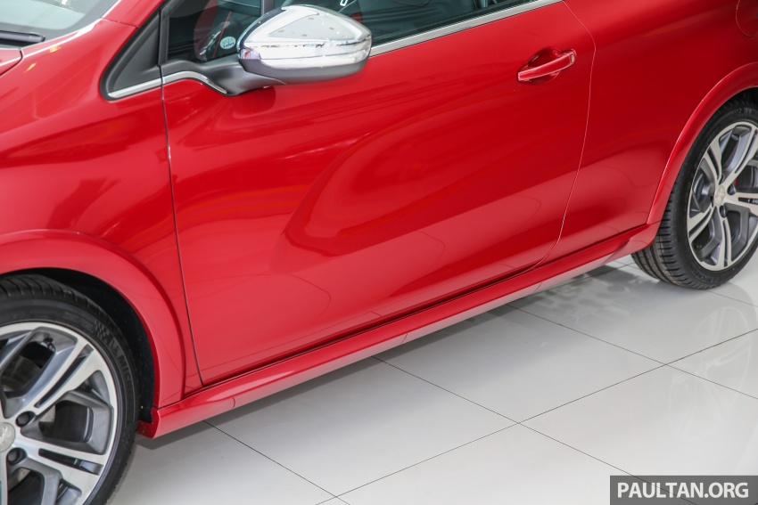 Peugeot 208 GTi facelift now in Malaysian showrooms Image #614728