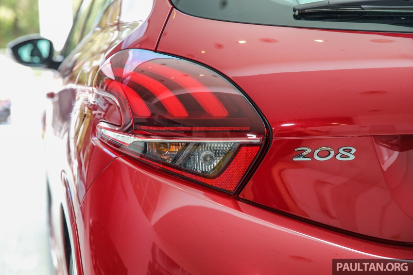 Peugeot 208 GTi facelift now in Malaysian showrooms Image #614733