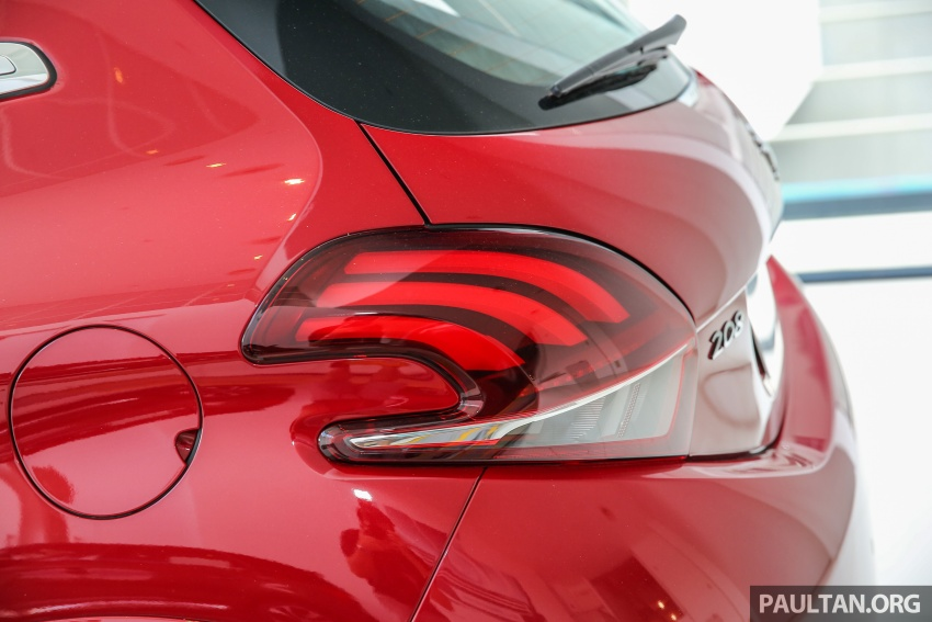 Peugeot 208 GTi facelift now in Malaysian showrooms Image #614735