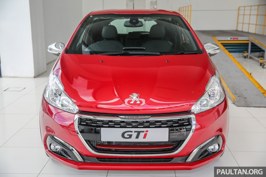 Peugeot 208 GTi facelift now in Malaysian showrooms Image #614714