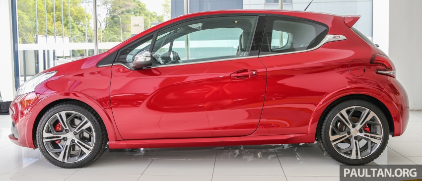 Peugeot 208 GTi facelift now in Malaysian showrooms Image #614717