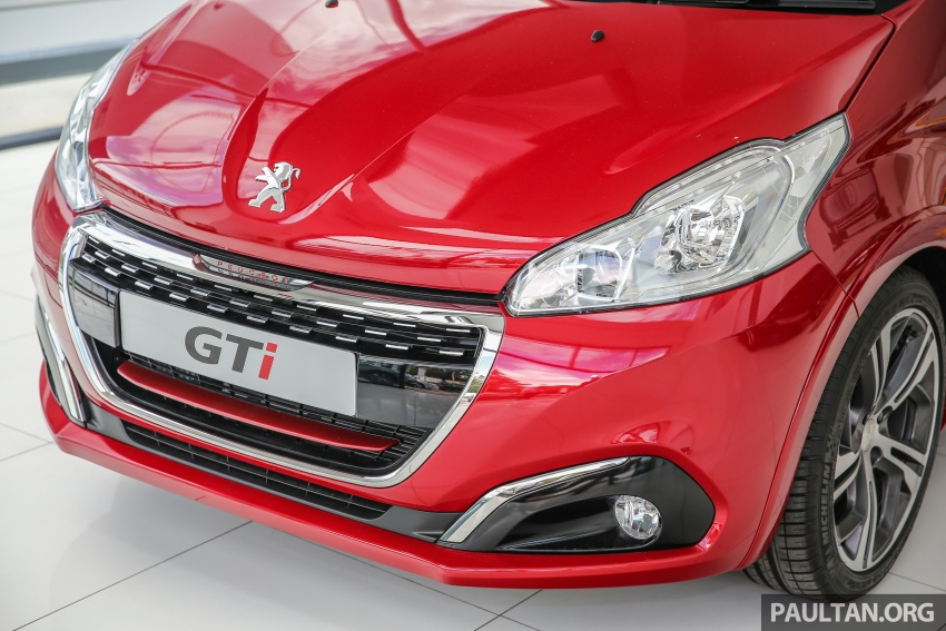 Peugeot 208 GTi facelift now in Malaysian showrooms Image #614718