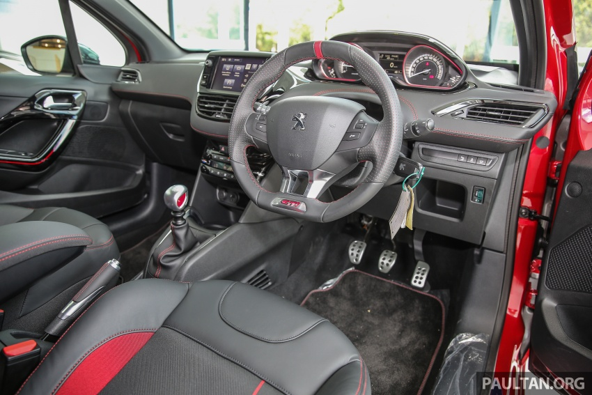 Peugeot 208 GTi facelift now in Malaysian showrooms Image #614742