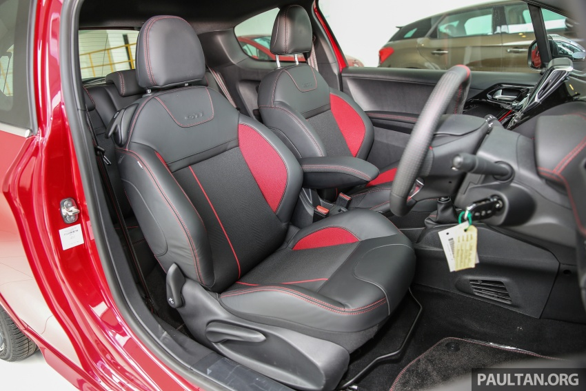 Peugeot 208 GTi facelift now in Malaysian showrooms Image #614761