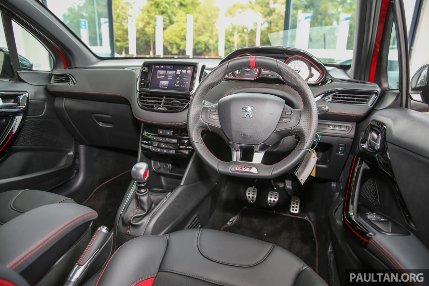 Peugeot 208 GTi facelift now in Malaysian showrooms Image #614762
