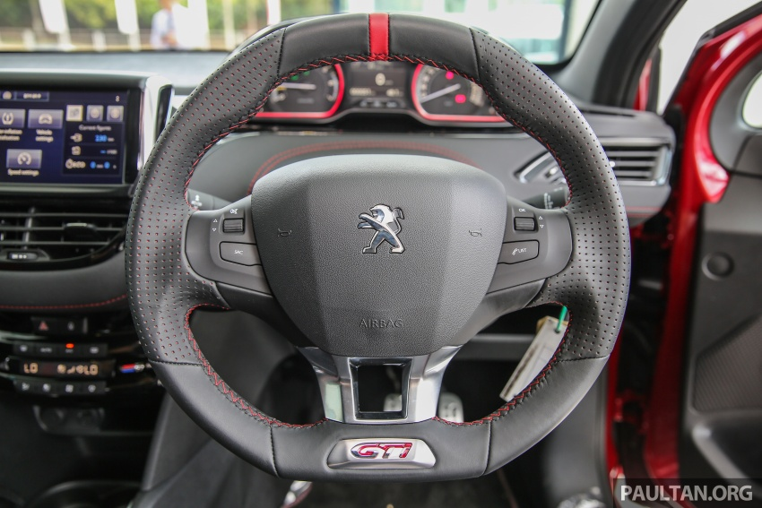 Peugeot 208 GTi facelift now in Malaysian showrooms Image #614745