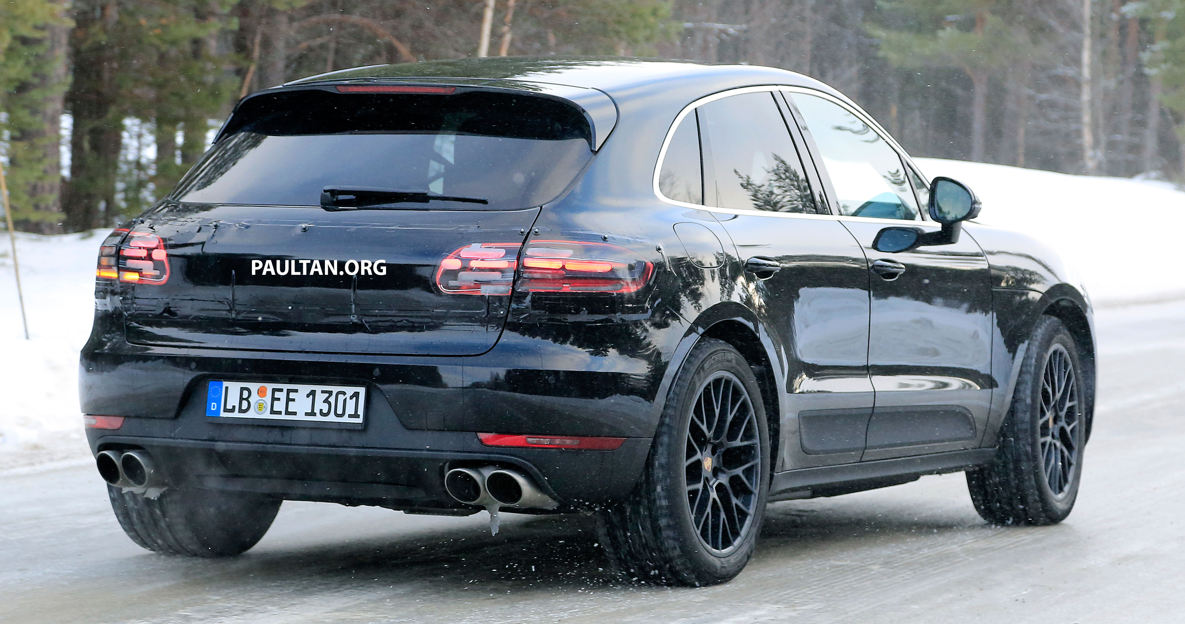 SPIED: Porsche Macan facelift undergoing winter trials ...