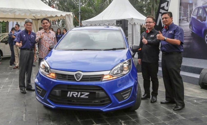 Proton Iriz launched in Indonesia – 1.3L CVT, manual Image #617403
