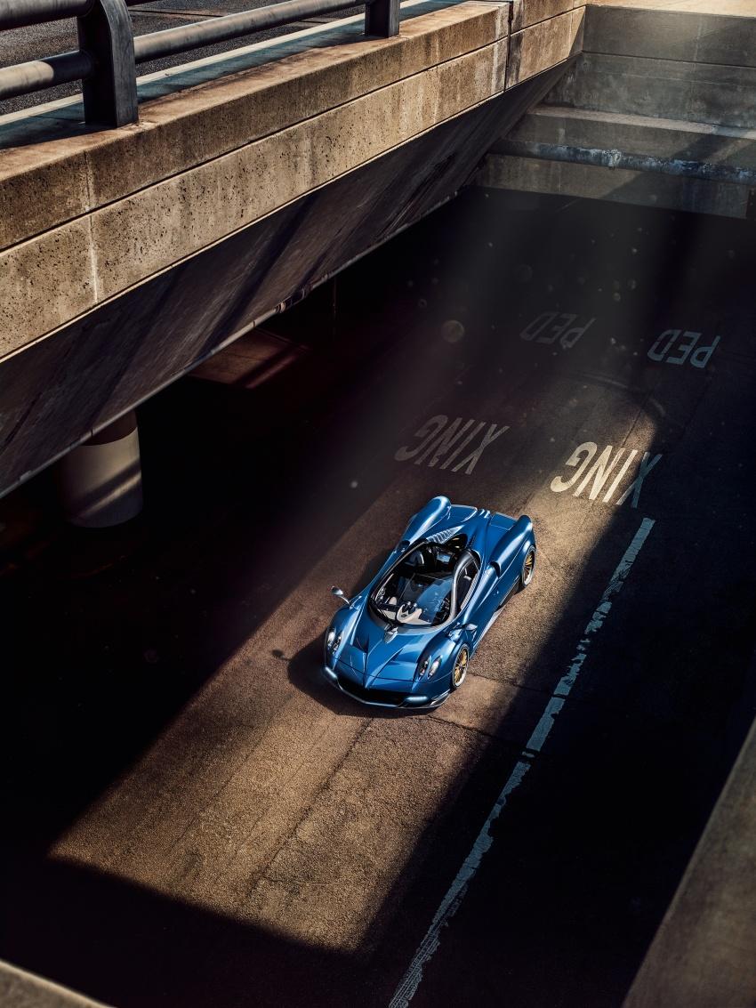 Pagani Huayra Roadster debuts with 764 hp, 1,000 Nm Image #615618