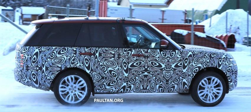 SPYSHOTS: L405 Range Rover facelift spotted testing – plug-in hybrid variant to lead revised model charge? Image #619507