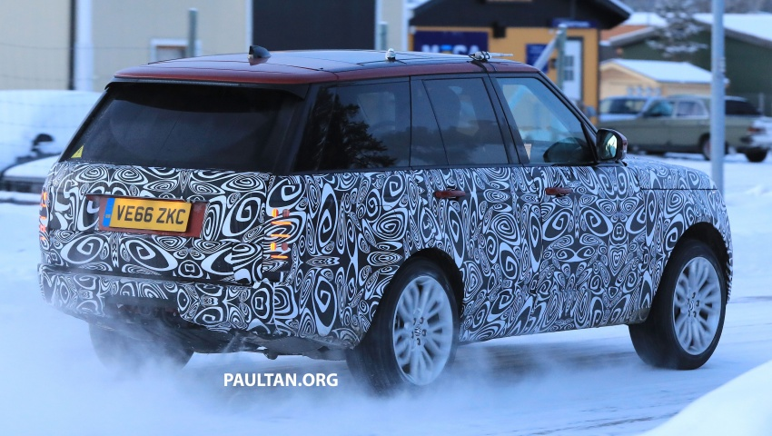 SPYSHOTS: L405 Range Rover facelift spotted testing – plug-in hybrid variant to lead revised model charge? Image #619510