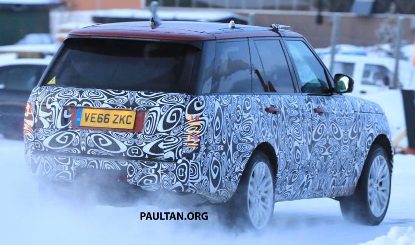 SPYSHOTS: L405 Range Rover facelift spotted testing – plug-in hybrid variant to lead revised model charge? Image #619512