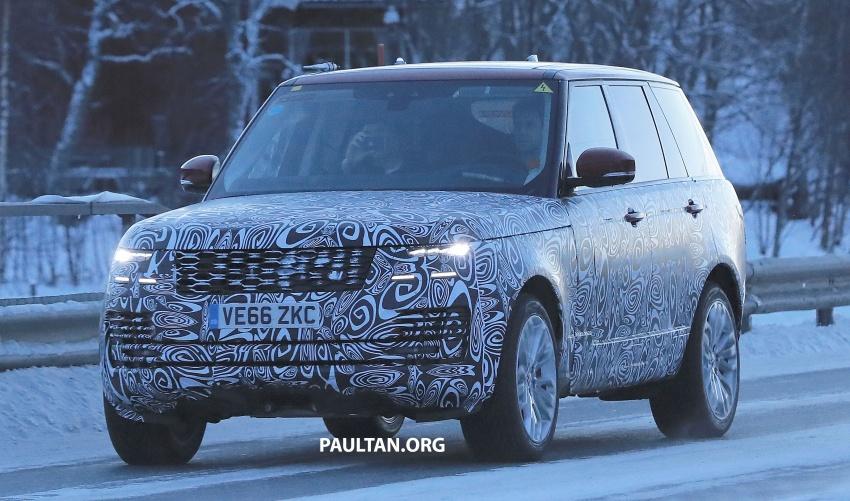 SPYSHOTS: L405 Range Rover facelift spotted testing – plug-in hybrid variant to lead revised model charge? Image #619515