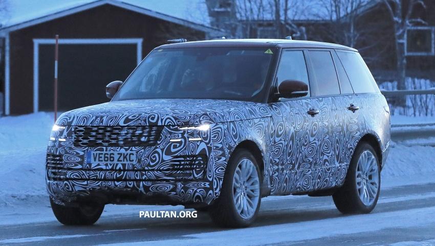 SPYSHOTS: L405 Range Rover facelift spotted testing – plug-in hybrid variant to lead revised model charge? Image #619517