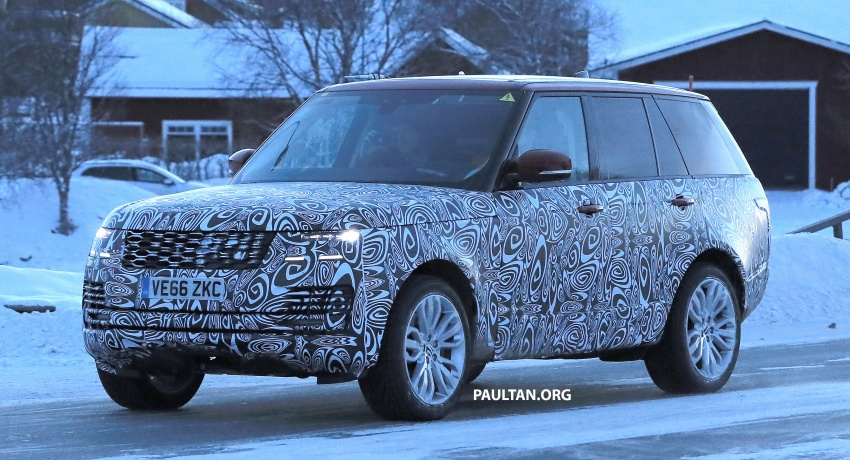 SPYSHOTS: L405 Range Rover facelift spotted testing – plug-in hybrid variant to lead revised model charge? Image #619519